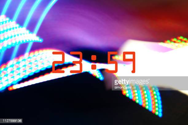 Clocks on abstract backgrounds
