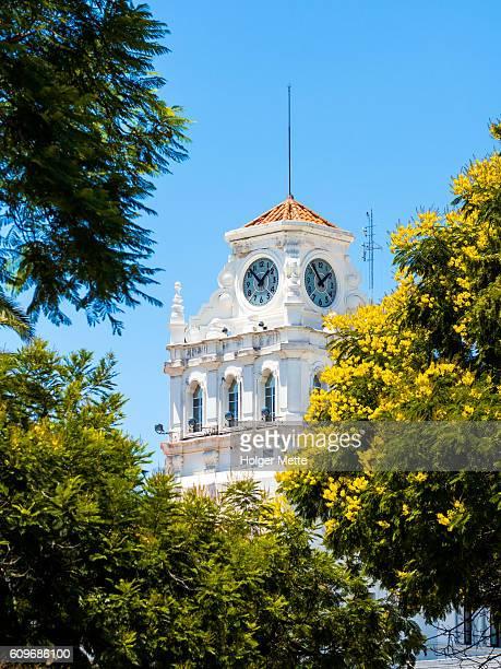 clocktower in cordoba, argentina - cordoba argentina fotografías e imágenes de stock