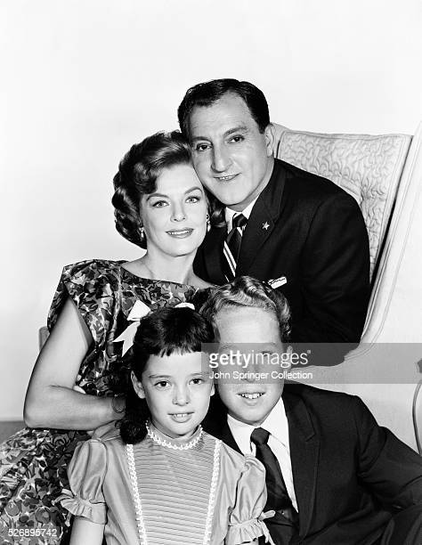Clockwise from top left are Marjorie Lord Danny Thomas Rusty Hamer and Angela Cartwright of the television series Make Room for Daddy also known as...