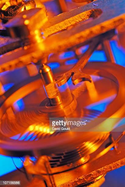 Clockwork balance wheel.