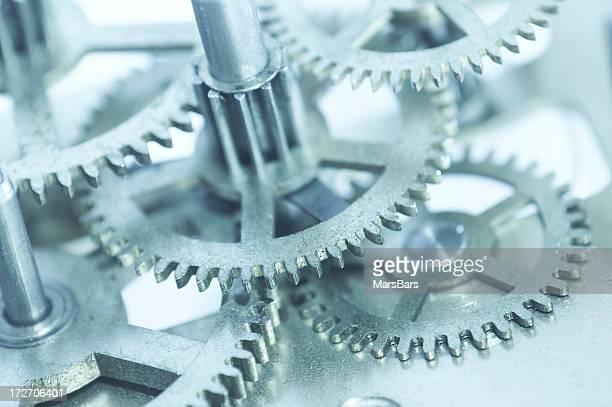 clockwork Getriebe Makro