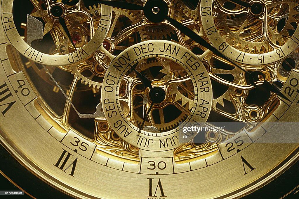 Clockwork orange gold : Stock Photo