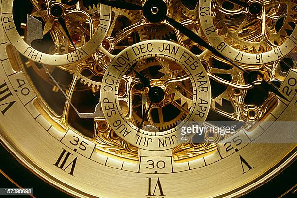 clockwork orange gold - wrist watch stock pictures, royalty-free photos & images