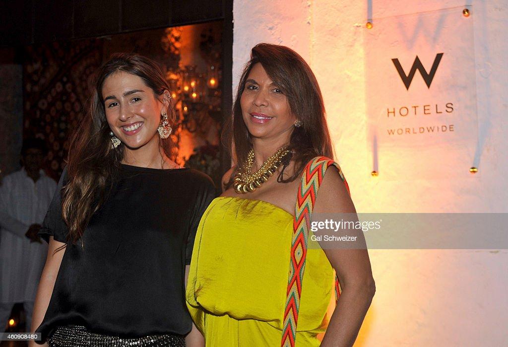 W Hotels and Esteban Cortazar celebrate the opening of W Bogota in Cartagena : News Photo