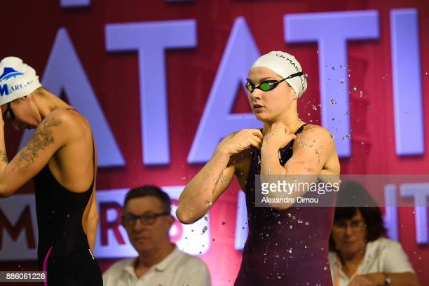 Cloe Hache in Final 400m Freestyle of the French National Swimming Championships on December 3 2017 in Montpellier France