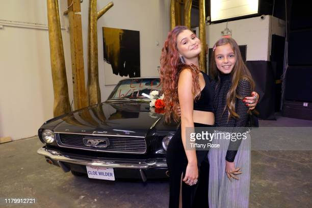Cloe Wilder and Annaka Fourneret attend Cloe Wilder's Save Me music video premiere party on October 08 2019 in Los Angeles California