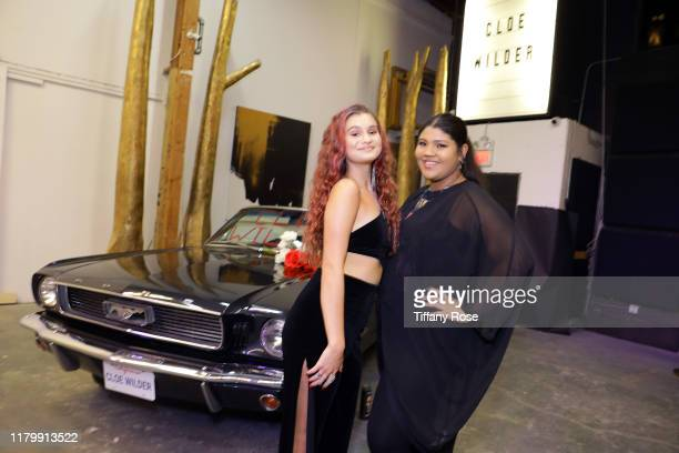 Cloe Wilder and Ashley Michelle attend Cloe Wilder's Save Me music video premiere party on October 08 2019 in Los Angeles California