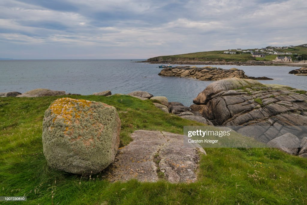 Cloghcor Arranmore Island County Donegal Ulster Republic Of Ireland Europe High Res Stock Photo Getty Images