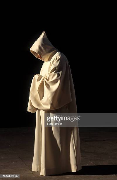 Cloister Benedictine monk