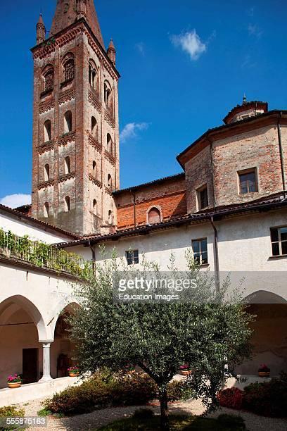 Cloister Church Of St John Saluzzo Village Langhe Piemonte Italy Europe