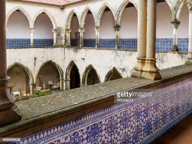 Cloister Claustro da Lavagem Convent of Christ Convento de Cristo in Tomar It is part of the UNESCO world heritage Europe Southern Europe Portugal...