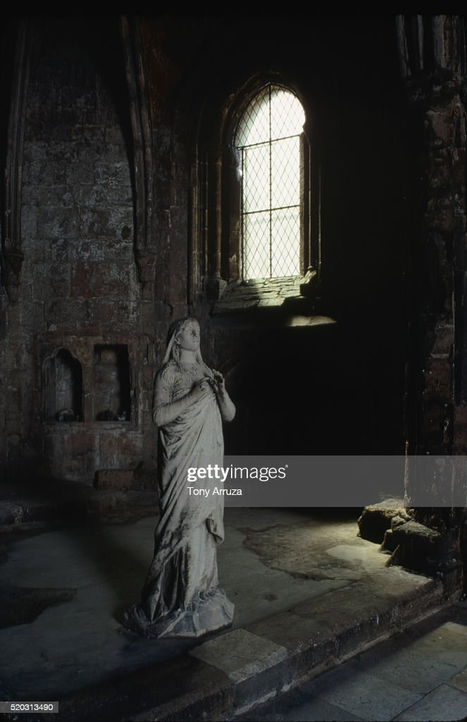 Cloister of Cathedral, Lisbon : Stock Photo