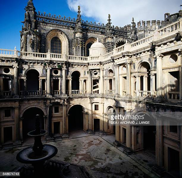 Cloister of Felipes or Main Cloister Convent of the Order of Christ Tomar Centro Portugal 16th century