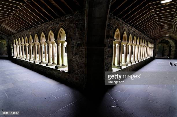 Cloister of Iona Abbey
