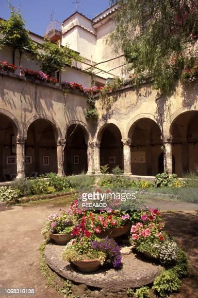 Cloister of San Francesco Sorrento Campania Italy