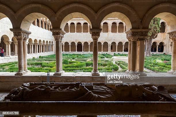 Cloister of Santo Domingo de Silos Abbey. Burgos