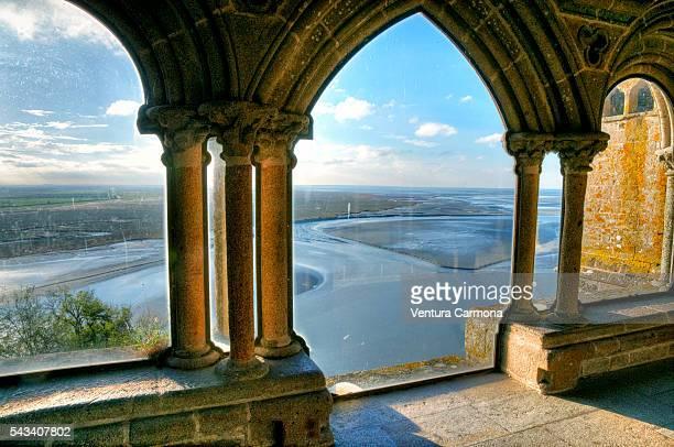 Cloister of The Abbey Le Mont Saint Michel