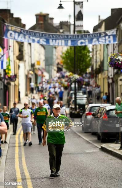 Clones Ireland 22 July 2018 Kerry manager Éamonn Fitzmaurice during the GAA Football AllIreland Senior Championship QuarterFinal Group 1 Phase 2...
