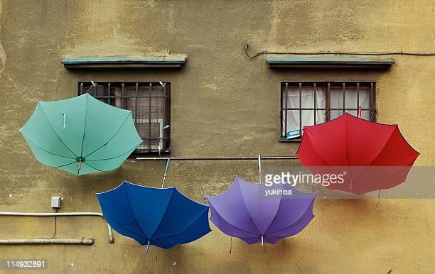 Clorful umbrella