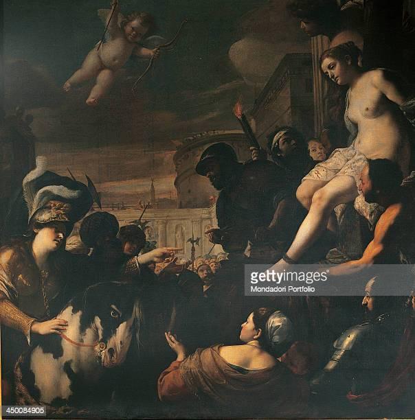 Clorinda Rescuing Sophronia and Olindo by Mattia Preti 17th Century oil on canvas 248 x 245 cm