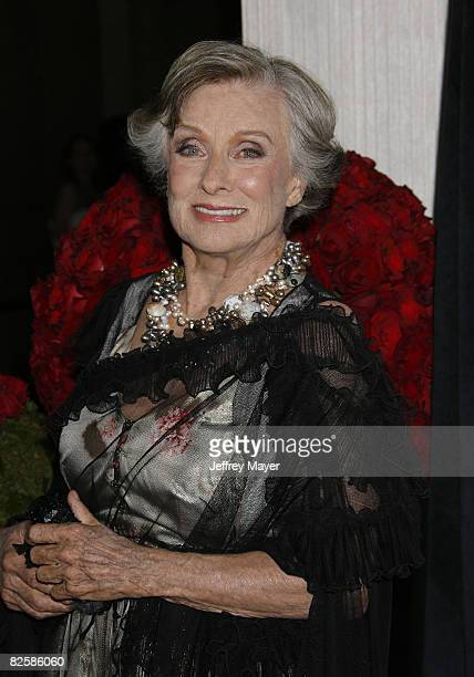 Cloris Leachman arrives at The 2008 Crystal Lucy Awards 'A Black And White Gala' on June 17 2008 at the Beverly Hilton Hotel in Beverly Hills...