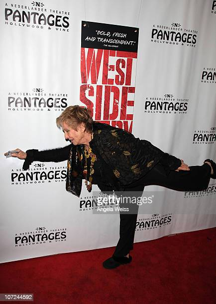 Cloris Leachman attends the opening night of 'West Side Story' at the Pantages Theatre on December 1 2010 in Hollywood California