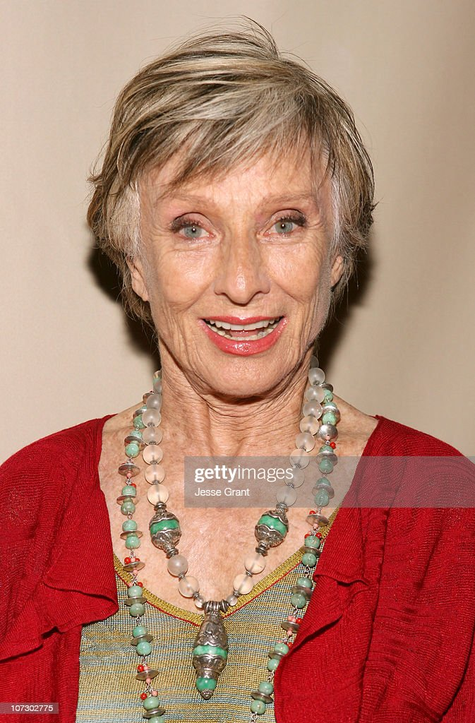 Cloris Leachman during 58th Annual Primetime Emmy Award Nominees for Outstanding Writing Reception at French 75 Bistro in Century City, California, United States.