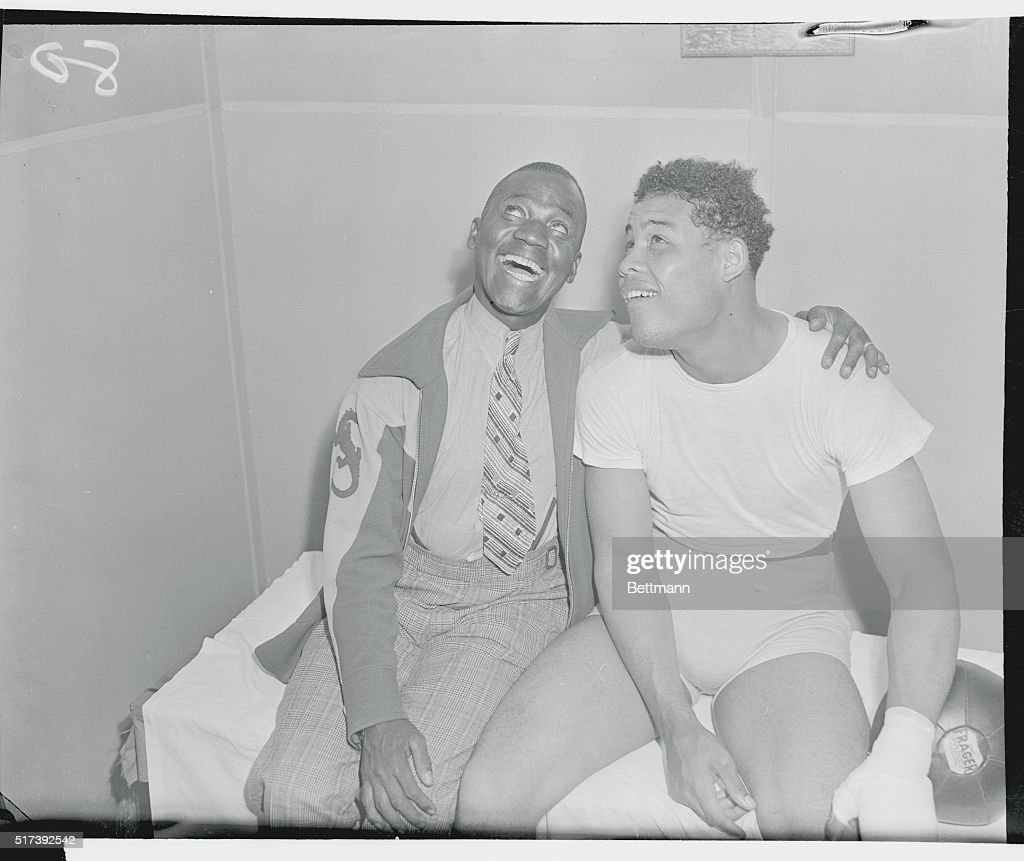 Joe Louis and Bill Robinson Pictures | Getty Images