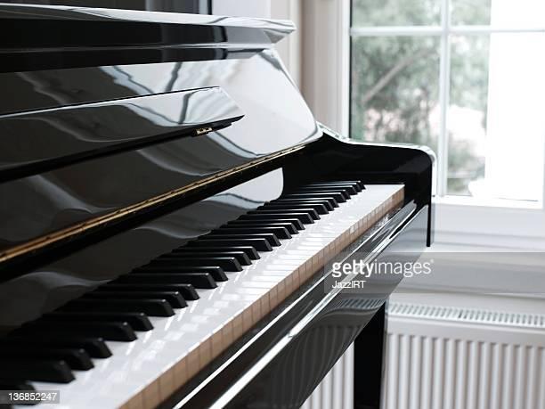 In der Nähe von Klavier und Schlüssel