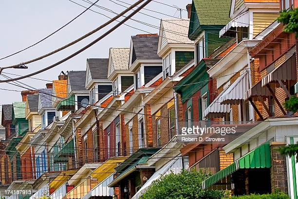 2920 - close quarters - pittsburgh stock pictures, royalty-free photos & images