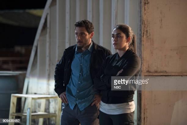 THE BRAVE 'Close to Home Part 1' Episode 112 Pictured Hadi Tabbal as Agent Amir AlRaisani Natacha Karam as Sergeant Jasmine 'Jaz' Khan