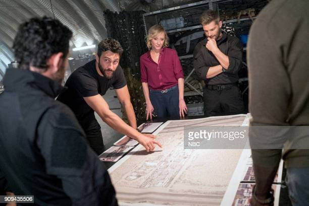 THE BRAVE 'Close to Home Part 2' Episode 113 Pictured Noah Mills as Sergeant Joseph 'McG' McGuire Anne Heche as Patricia Campbell Mike Vogel as...