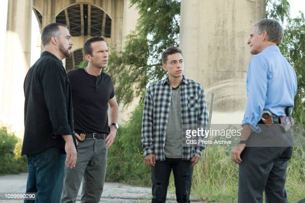 ''Close to Home' The NCIS team places Mateo Diaz a high school gang member turned informant in protective custody while they investigate the murder...