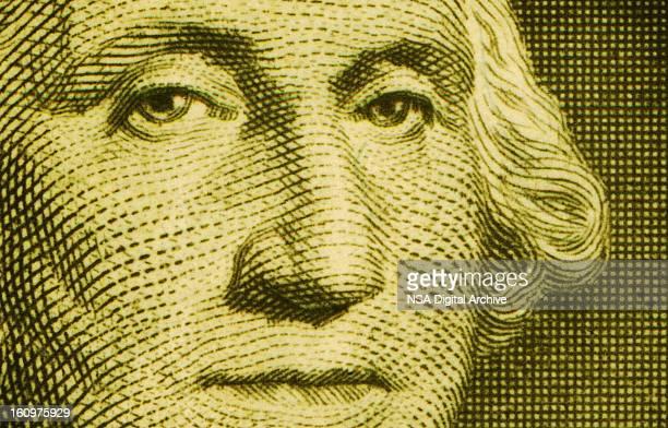 Gros plan de Washington Portrait d'un US dollars américains