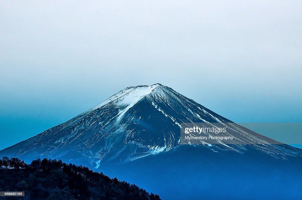 Close up beautiful Mount Fuji, Japan : Stock Photo