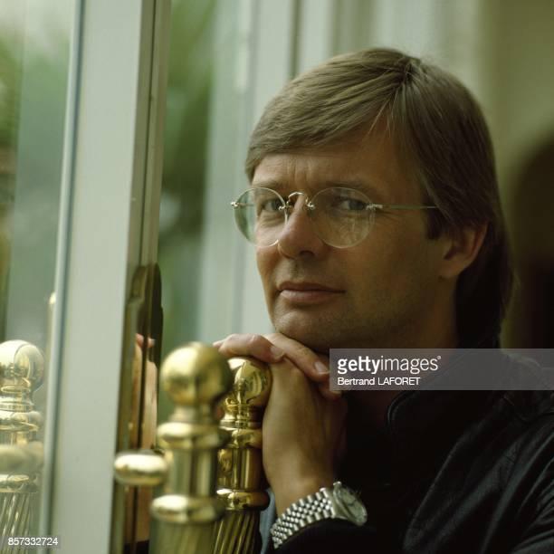 Close up Bille August realisateur de cinema danois en novembre 1992 aux EtatsUnis