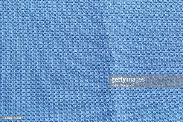 Close up blue, navy blue fabric texture. Textile background.