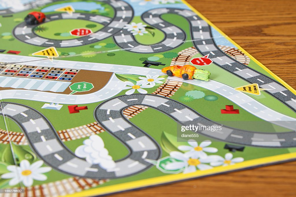 Close Up Board Game : Stock Photo