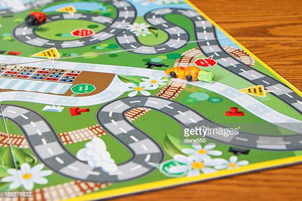 close up board game - game night stock photos and pictures