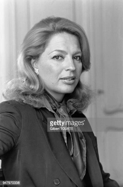 Close up de la princesse Ira de Furstenberg au festival de Cannes en mai 1980 a Cannes France