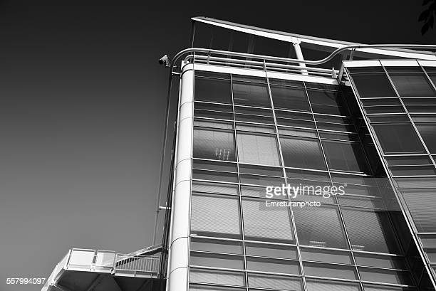 close up detail of modern building structure - emreturanphoto stock pictures, royalty-free photos & images