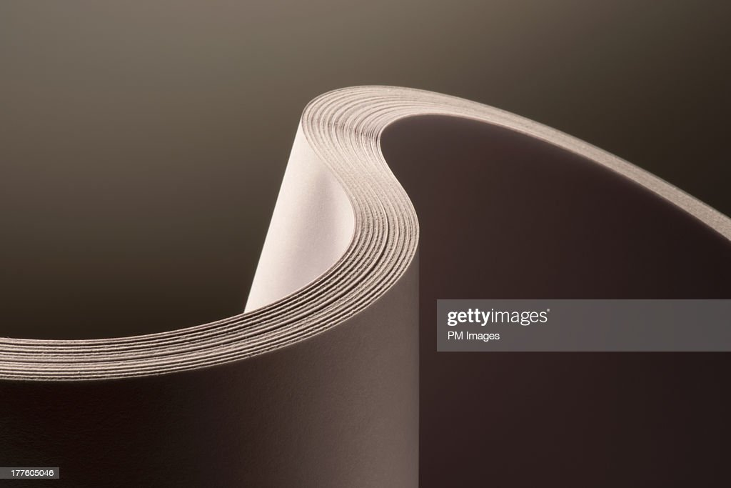 Close up detail of multiple sheets of paper : Stock Photo
