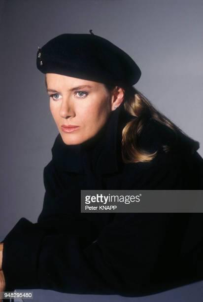 Close up Dominique Sanda actrice en février 1987 en France
