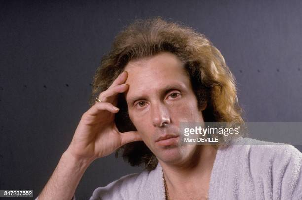 Close up du danseur argentin Jorge Donn en mars 1988 a Bruxelles, Belgique.