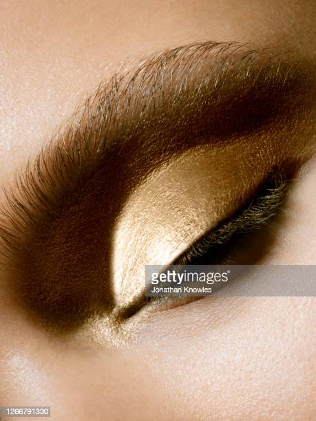 close up eye makeup - beauty stock pictures, royalty-free photos & images