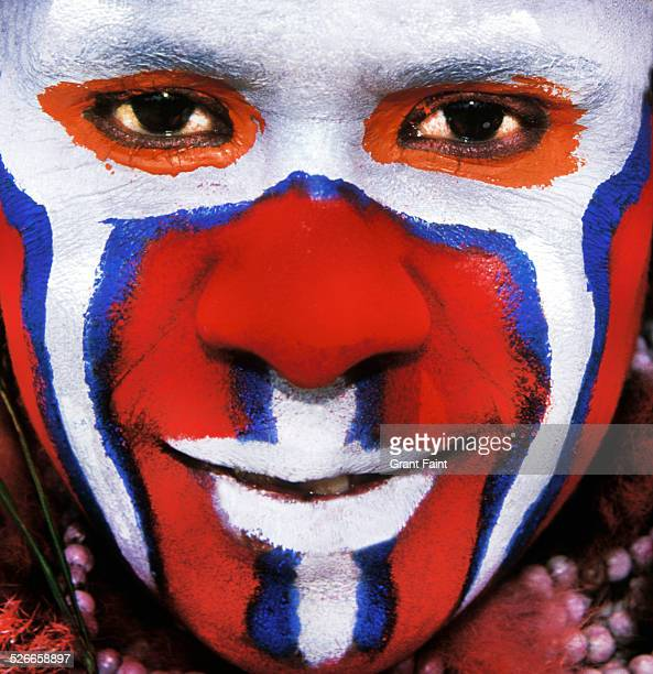 close up  face - papua new guinea stock pictures, royalty-free photos & images