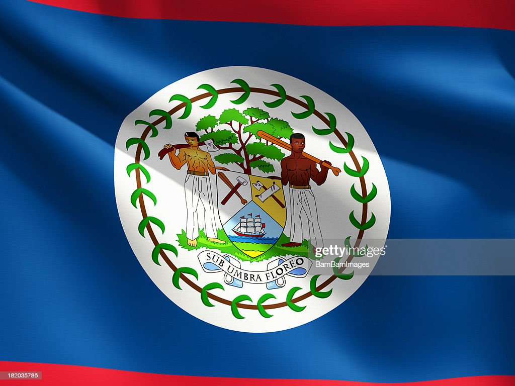 close up flag belize stock photo getty images