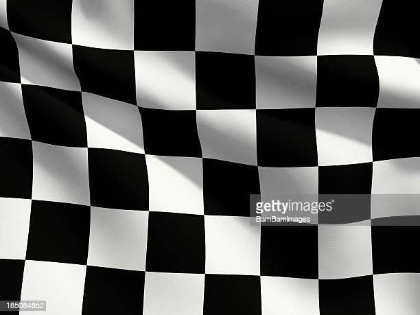 Close Up Flag - Checkered