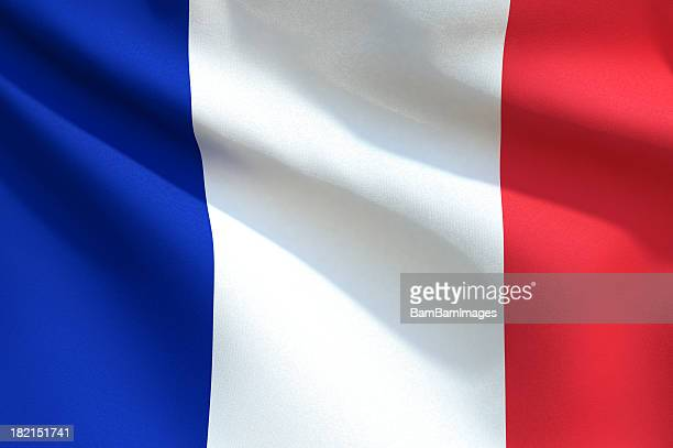 Close up Flag - France