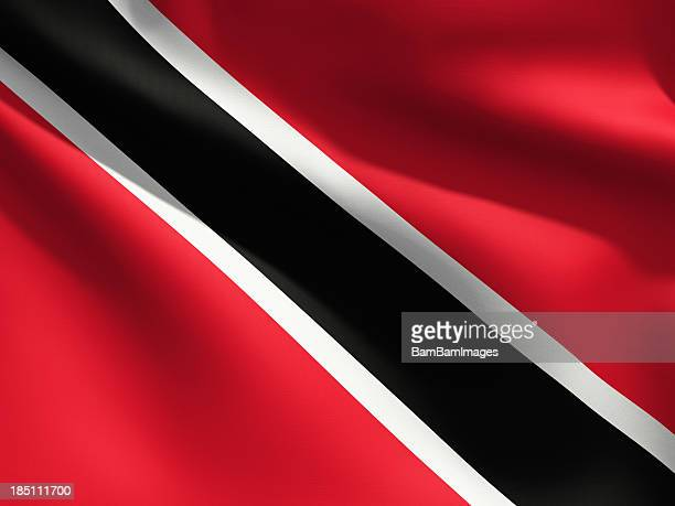Close up Flag - Trinidad & Tobago